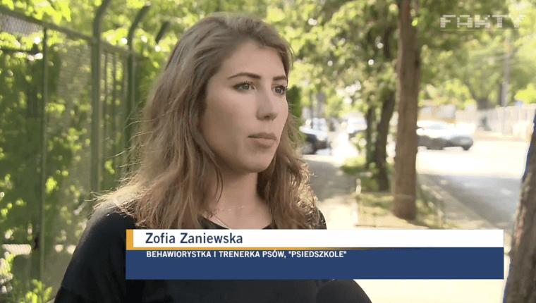 wywiad z Zofią Zaniewską behawiorystką i trenerką psów Psiedszkole
