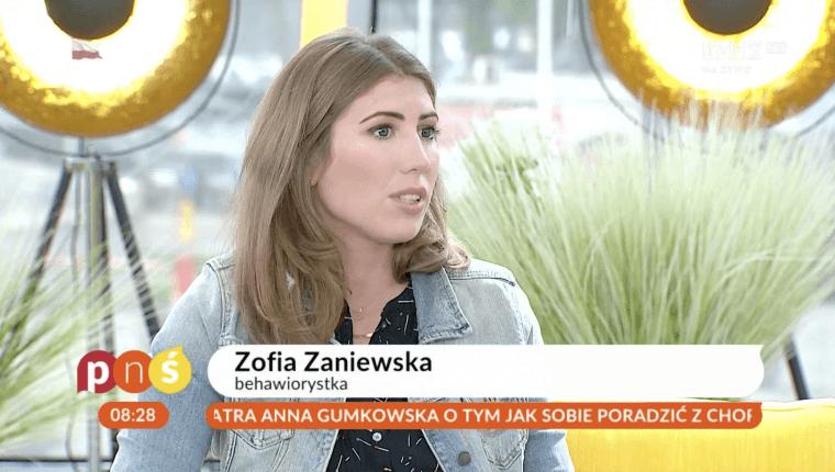 Zofia Zaniewska behawiorystka psów w pytaniu na śniadanie