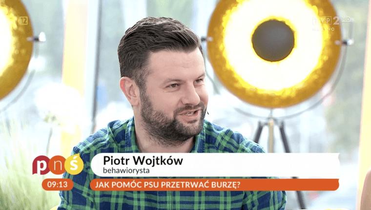 Piotr Wojtków jak pomóc psu przetrwać burzę