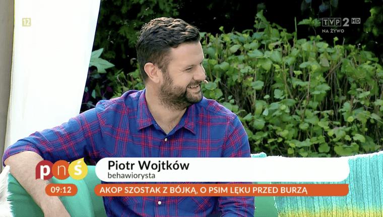 Piotr Wojtków behawiorysta opowiada o psim lęku przed burzą pnś
