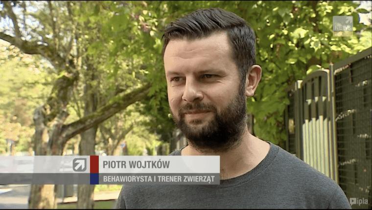 Piotr Wojtków behawiorysta i trener zwierząt wywiad dla polsat news