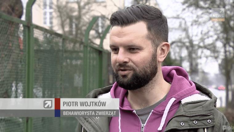 polsat newsk Piotr Wojtków behawiorysta zwierząt