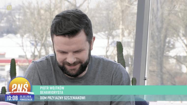 Piotr Wojtków w pnś -dom przyjazny szczeniakowi