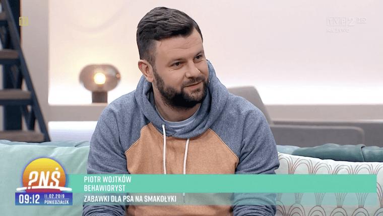Piotr Wojtków behawiorysta pnś zabawki dla psa na smakołyki