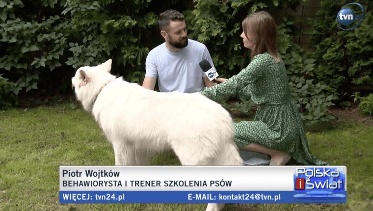 Piotr Wojtków behawiorysta i trener szkolenia psów