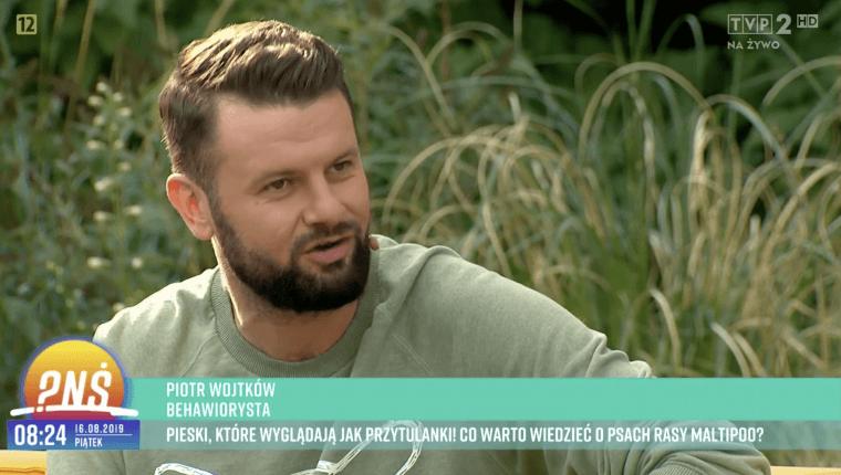 behawiorysta psów Piotr Wojtków