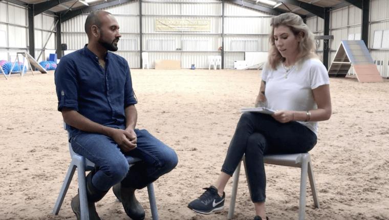 wywiad Zofii Zaniewskiej Wojtków z Chiragiem Patelem
